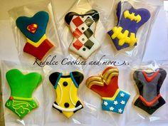 DC Girls cookies