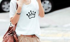 crown graphic tee