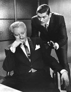Bewitched (1964-72)  David White as Larry Tate  Dick York as Darrin Stephens