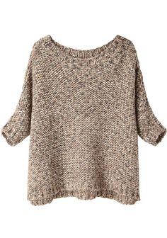 Black Crane / Box Sweater | La Garçonne