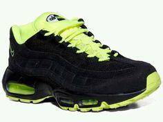 """Nike Air Max 95 """"black/volt"""""""