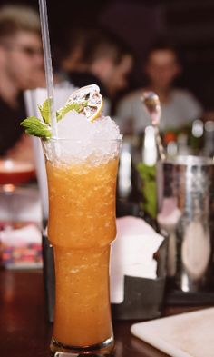 You will fall in love with fruity and refreshing slushies with slowly melting ice which opens new sides of the cocktail's flavour with every sip