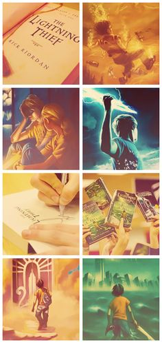 The Lightning Thief book one of Percy Jackson and the Olympians