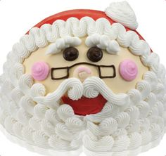 Baskin-Robbins | Santa Cake for Christmas this year