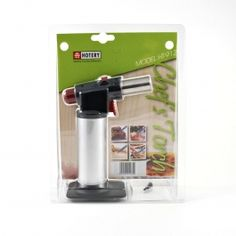 Super chef's blowtorch / Professional cooking torch for browning sous vide meat, caramelising desserts and skinning fruit