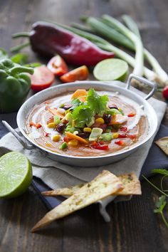 Gaspacho tex-mex Tex Mex, Deli, Bon Appetit, Food Styling, Thai Red Curry, Food Inspiration, Salsa, Food Photography, Vegan Recipes