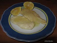 Scaloppine di petto di pollo al limone