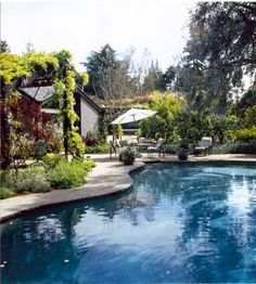 Outer space Landscape Architecture - pool design is always particularly nice.