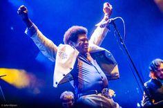 Charles Bradley and his Extraordinaires live at Bruis festival, Maastricht sept. 7, 2014.