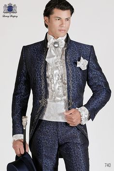 0a73598cf6be1a 2017 New Style Hot sale Groom Tuxedos Wedding Suits Men lace embroidered  Mandarin Collar clothes Blazer Jacket Trouser (Jacket Pants Tie) in 2019 ...