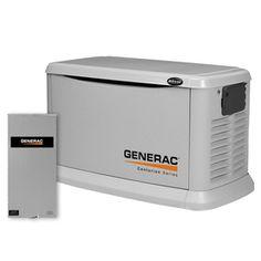 Centurion 20,000-Watts (LP)/18,000-Watt (NG) Standby Generator with Automatic Transfer Switch