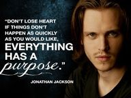 Quote from 20 Questions with Jonathan Jackson (aka Avery from Nashville on ABC)