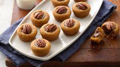 Put a fall twist on peanut butter cookie cups with Betty Crocker™ pumpkin spice cookie mix!
