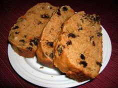 Sweet potato bread.  This sounds yummy!  I might have to actually bake it someday.