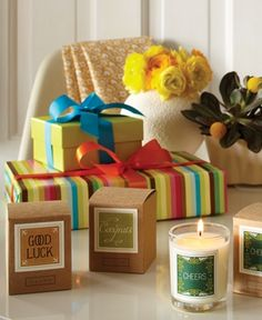 Candles by Illume - makes the sweetest gifts!