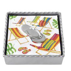 Flip-flop Cocktail Napkin Box