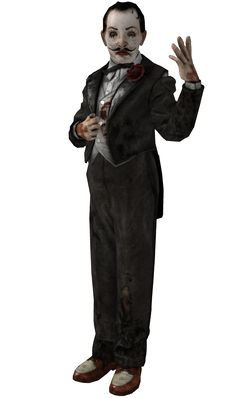 during this season of walking corpses silent knife wielding madmen or odd dream demons lets not forget the more artistically inclined psychopath Sander Cohen. Video Game Industry, Video Game News, Video Games, Bioshock Series, Bioshock 2, Bioshock Artwork, Hector Rodriguez, Sander Cohen, Dc Comics Art