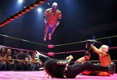Lucha Va Voom's Cinco de Mayan show at the Mayan Theater in downtown Los Angeles (by Joe Klamar)