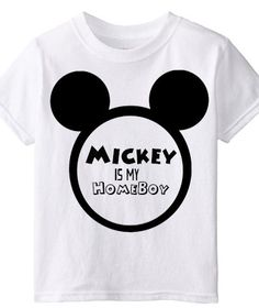 Mickey Mouse / Homeboy by LittleSuperPowers on Etsy