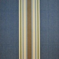 Pembridge Stripe CL Blue Upholstery Fabric by Clarence House