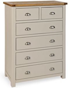 The Portland collection is a timeless addition to any room in your home. Painted Grey / Stone and having a rustic chunky style with a oak top. Offering an ample choice for the bedroom, this stunning rustic range of furniture would fit many classic and modern homes.  Being mainly ready assembled and being of excellent quality for the fabulous price. Available on our website www.uniquechicfurniture.co.uk