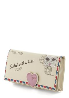 Everyday in a Letter Wallet, #ModCloth