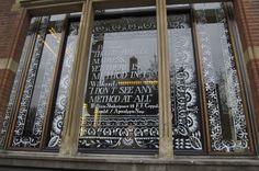 Yvo Sprey painted window