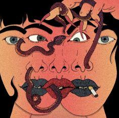 SUPERSONIC ART: Pablo Gerardo Camacho, Illustrations. Loving this...