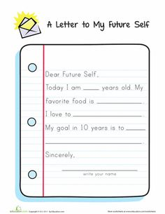 letters to my future self create lasting memories for your students by writing letters to themselves for the future