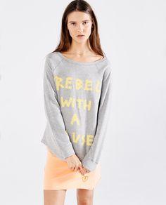 Ss16, Graphic Sweatshirt, Glamour, Sharks, Sweatshirts, Tees, Madrid, Sleeves, Sweaters