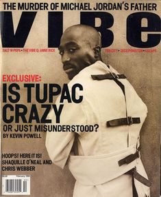 Tupac Shakur (February 1994) | 20 Vibe Magazine Covers That Perfectly Define The '90s