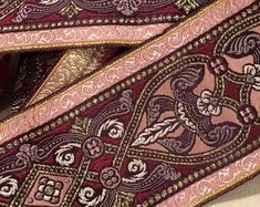 Check out our pink jacquard ribbon selection for the very best in unique or custom, handmade pieces from our shops. Hand Henna, Hand Tattoos, Alexander Mcqueen Scarf, Ribbon, Unique, Pink, Handmade, Etsy, Fashion