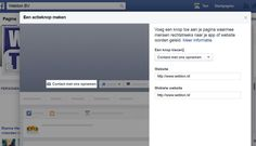 Facebook's call to action knop op je pagina in 6 stappen!