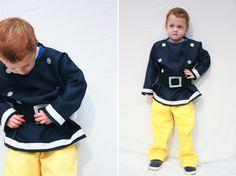 One Little Minute - http://www.onelittleminuteblog.com/2012/11/fireman-sam-costume/