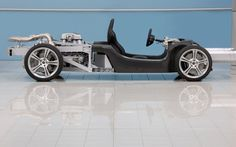McLaren MP4-12C chassis