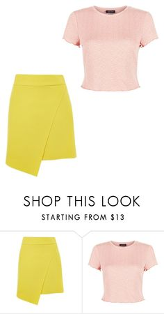 """""""Untitled #234"""" by milliegibsonxx ❤ liked on Polyvore featuring Topshop, New Look, asymmetricskirts and 60secondstyle"""