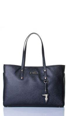 Donna Trussardi Dursoboutique Tru Col su Shop Tru Online Shopping Nero Borsa Trussardi qXPw7Zx