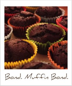 because basic chocolate muffins are always a good idea :)