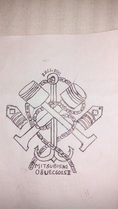 Marine engineer tattoo