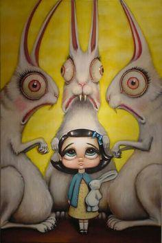 MARK RYDEN http://www.widewalls.ch/artist/mark-ryden/ #pop #surrealism