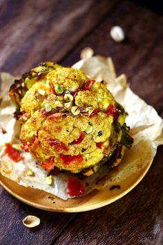 Un dejeuner de soleil: Chou-fleur rôti aux épices
