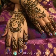 #newyearseve #henna for @last_ofthe_american_girls ! Probably the last henna I will do for 2014! | Flickr - Photo Sharing!