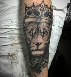 Lion tattoo #lion #leao