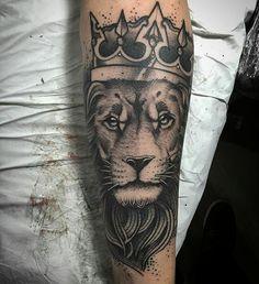 Lion tattoo #lion #leao