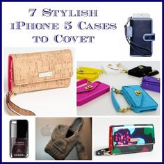 7 Stylish iPhone 5 Cases to Covet on @Babble by @LeticiaTechSavvyMama - cute cute!