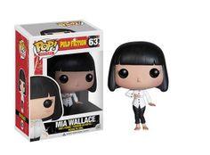 Cabezón Mia Wallace, 10cm. Pulp Fiction Fnko POP Movies Cabezón de 10cm perteneciente al personaje Mia basado en la clásica película Pulp Fiction.