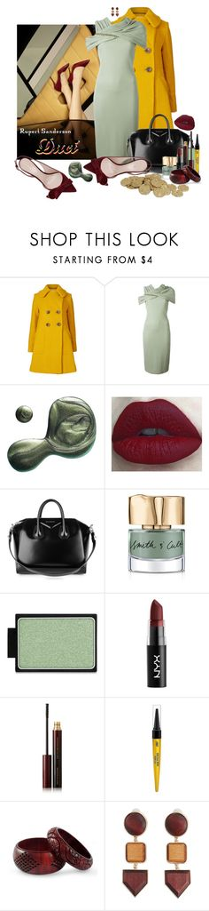"""Rupert Sanderson Inspired"" by duci ❤ liked on Polyvore featuring Orla Kiely, Rupert Sanderson, Givenchy, Illamasqua, Smith & Cult, NYX, Kevyn Aucoin, Black Radiance, NOVICA and MANGO"