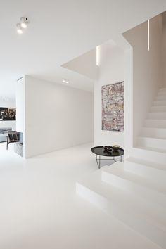 Front Room Design, Interior Architecture, Interior Design, Home And Deco, White Furniture, Minimalist Home, New Homes, Loft, House Design