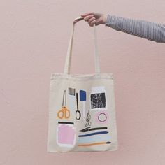"""44293cd64258 The Neighbourhood Studio on Instagram  """"✂ 🖌✏ Show your love for all things  stationery related with our studio tote bag designed by  amyvanluijk and ..."""