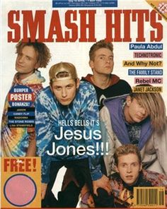 Smash Hits magazine, i was in this once, but they got my name wrong!